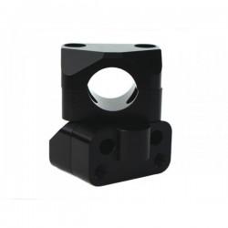 Adaptateur Universel Guidon 28,6mm Black