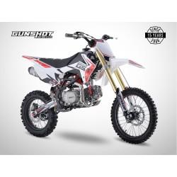Pit Bike GUNSHOT 125 FX - 17/14 - Blanc - 2021