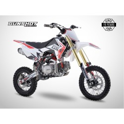 Pit Bike GUNSHOT 125 FX - 14/12 - Blanc - 2021