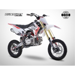 Pit Bike GUNSHOT 140 FX - 14/12 - Blanc - 2021