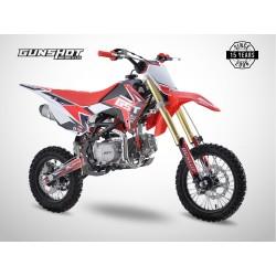 Pit Bike GUNSHOT 140 FX - 14/12 - Rouge - 2021