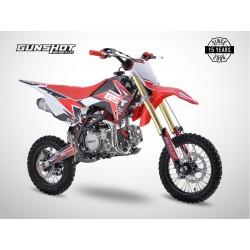 Pit Bike GUNSHOT 150 FX - 14/12 - Rouge - 2021
