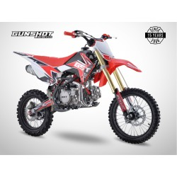 Pit Bike GUNSHOT 150 FX - 17/14 - Rouge - 2021