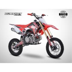Pit Bike GUNSHOT 190 FX - 14/12 - Rouge - 2021