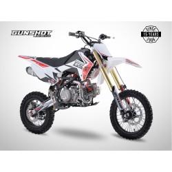 Pit Bike GUNSHOT 190 FX - 14/12 - Blanc - 2021