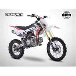 Pit Bike GUNSHOT 190 FX - 17/14 - Blanc - 2021
