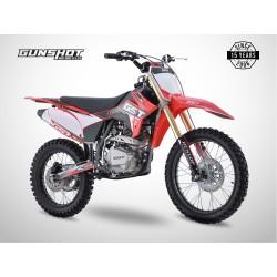 Moto cross GUNSHOT 150 MX-1 - Rouge - 2021