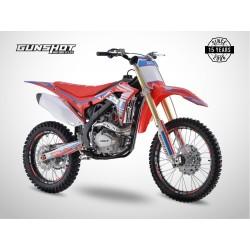 Moto cross GUNSHOT 250 MX-3 - Rouge - 2021