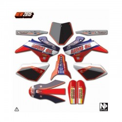 KIT DECO YCF NSTYLE LUCAS OIL ROUGE