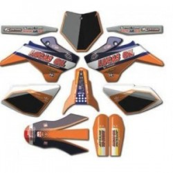 KIT DECO YCF NSTYLE LUCAS OIL ORANGE